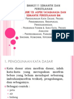 BMM3111 TAJUK 13_ASPEK TATABAHASA DAN SEMANTIK PERISTILAHAN BAHASA MELAYU.pptx