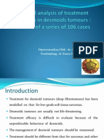 Jurnal A critical analysis of treatment strategies in desmoids.pptREVISI.ppt