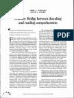 Fluency Bridge between Decoding and Reading Comprehension.pdf