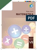 Buku Matematika SMP Kelas 7 Pegangan Guru