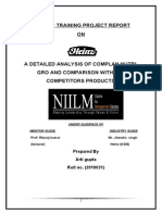 A Detailed Analysis of Complan Nutri-gro and Comparison With the Competitors Products