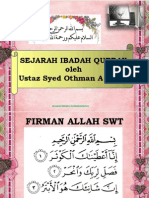 Sejarah Ibadah Korban(Ust Syed Othman).ppt