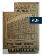 Queensland Deposit Bank and Building Society, 1887