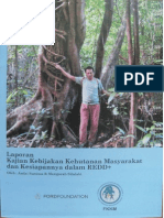 2011 Laporan Kajian Kebijakan Kehutanan Masyarakat Dan Kesiapannya Dalam REDD+