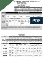echs-ah-dept-curriculum map-2013-2014