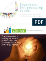 40 Powerhouse Entrepreneurship Quotes