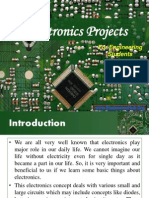 Projects on Electronics for ECE and EEE Students