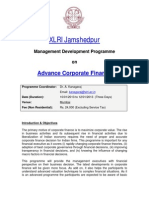MDP @ XLRI - Advance Corporate Finance.pdf