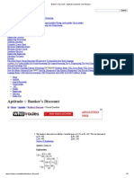 Banker's Discount - Aptitude Questions and Answers.pdf