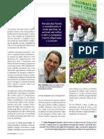 """Florais - Materia na revista """"Caes e Gatos"""" pg3"""