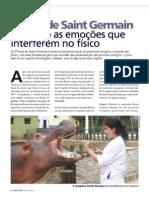 """Florais - Materia na revista """"Caes e Gatos"""" pg1"""