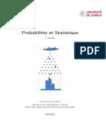 probabilité et statistique unige ressources