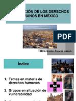 La situación de los DH en México - Emilio Álvarez Icaza