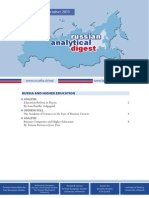 Russian Analytical Digest 137