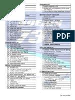 Boeing 737 200 Checklist