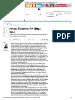 Las Rosas Blancas de Hugo Moyano - Tiempo Argentino _ Es Tiempo de Un Diario Nuevo