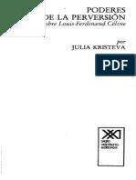 De Julia Kristeva - Poderes de la perversión