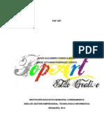 Proyecto de Grado PopArt