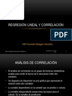 Regresion Lineal Correlacion