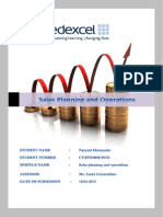 sales planning and operations.docx