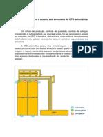 Procedimento para o acesso aos armazéns da CFD automática