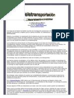 Teletransportacion Materializacion e Invisibilidad