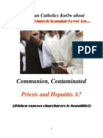 Do RCs KnOw Church Serves Hepatitis-A w/Communion?
