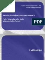 Aula Videoclipe 01 - Curso de Cinema UNA