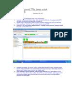 Parameter Configurasi TRM Ipaso Untuk BTS 3G Ericsson