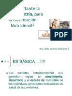 Es Importante La Antropometria Para La Clasificacion Nutricional Nta Ivonne Orellana