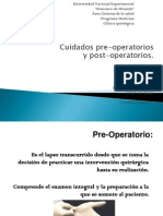 Pre y Post Operatoriofinal