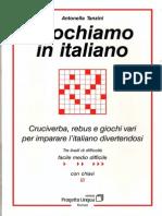 Giochiamo in Italiano