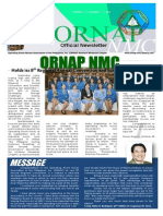 ORNAP-NMC Newsletter (Vol. 3 Issue 2)