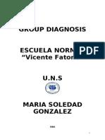 GROUP DIAGNOSIS ESCUELA NORMAL