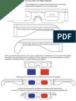 Hacer Gafas 3D