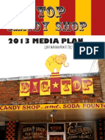 Big Top Candy Shop Media Plan