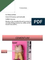 5- Cementum (Practical)