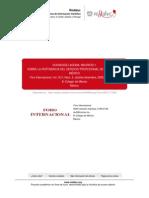 Estudio comparat- Pertinencia Serv Prof Carr México