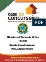 Apostila Mpu Andre Vieira e Giuliano Tamagno Dto Constitucional