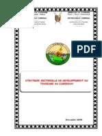 Stratégie sectorielle de developpement du tourisme au Cameroun 2005-06