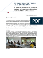 Informe de Estudios en Chame