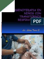 Oxigenoterapia en Niños con Transtornos Respiratorios (1)