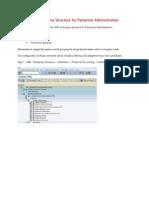 SAP HCM - Enterprise Structure for Personnel Administration.doc