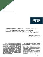 025-Unidad Geografica y Etnica de Los Valles Calchaquies