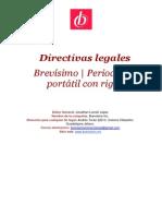 Directivas legales
