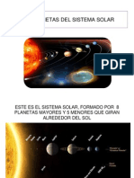 LOS PLANETAS información