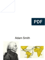 Adam Smith y Mercantilismo