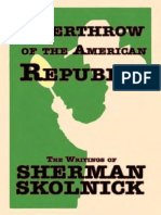 Overthrow of the American Republic - Sherman Skolnick.pdf