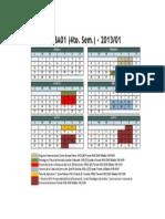 Calendario MBA01 2013-1