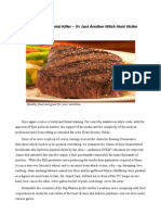 The Food Witch Hunt - Saturated Fat Is Not The Killer